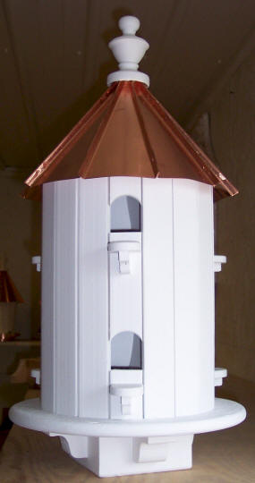 Copper Roof Birdhouses Authentic Amish Made Bird House