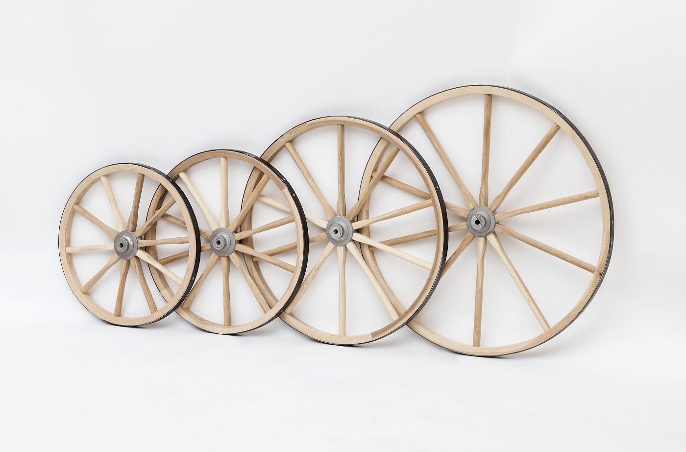 Wooden And Metal Spoked Wheels Amish Made Amishshopcom