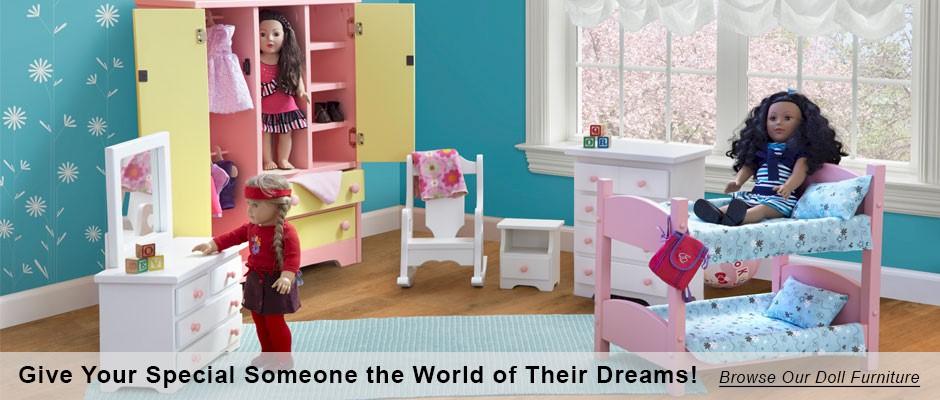 Doll Furniture 18 Inch Dolls Amishshopcom