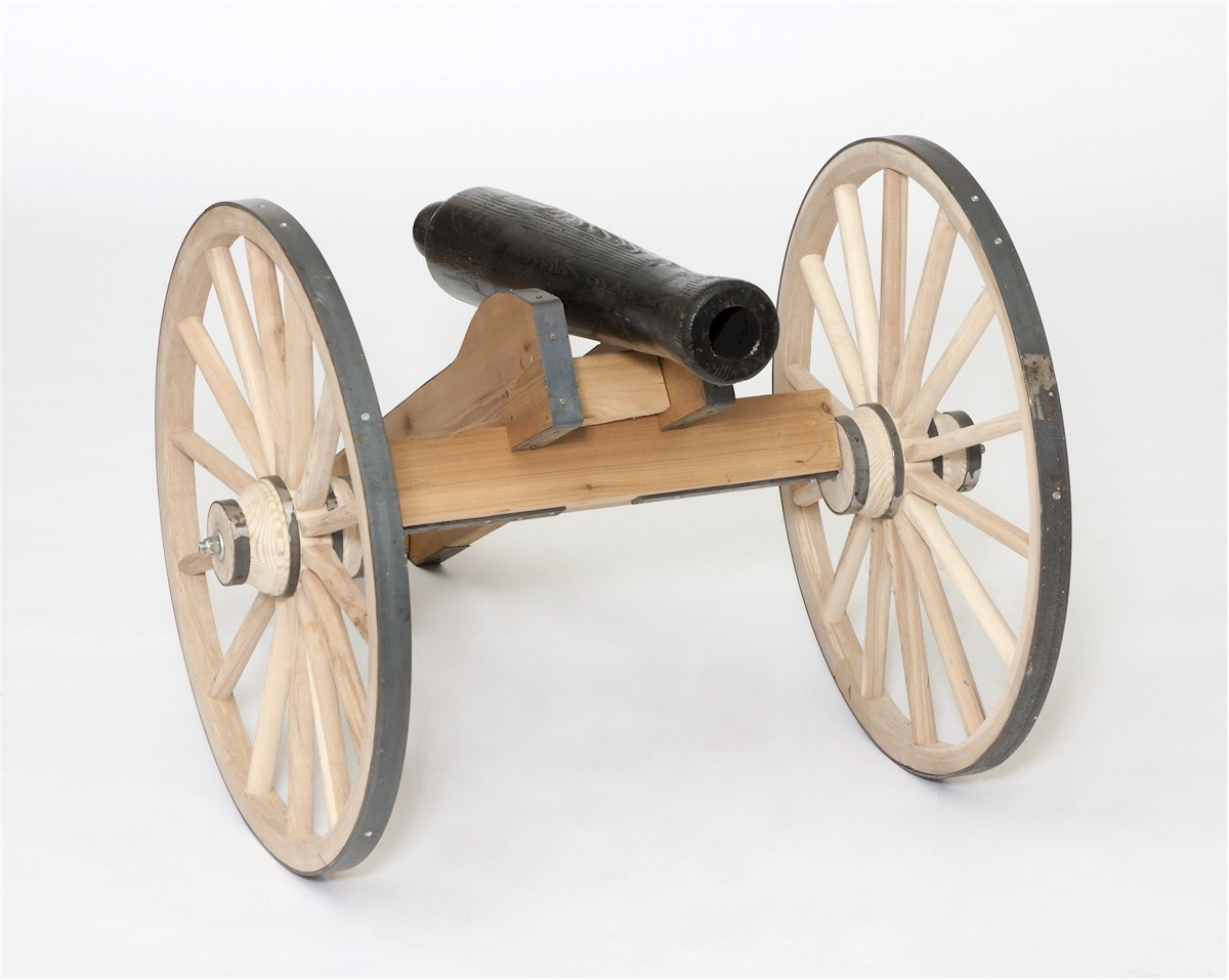 Wooden Half Scale Cannon Amish Made Amishshop Com