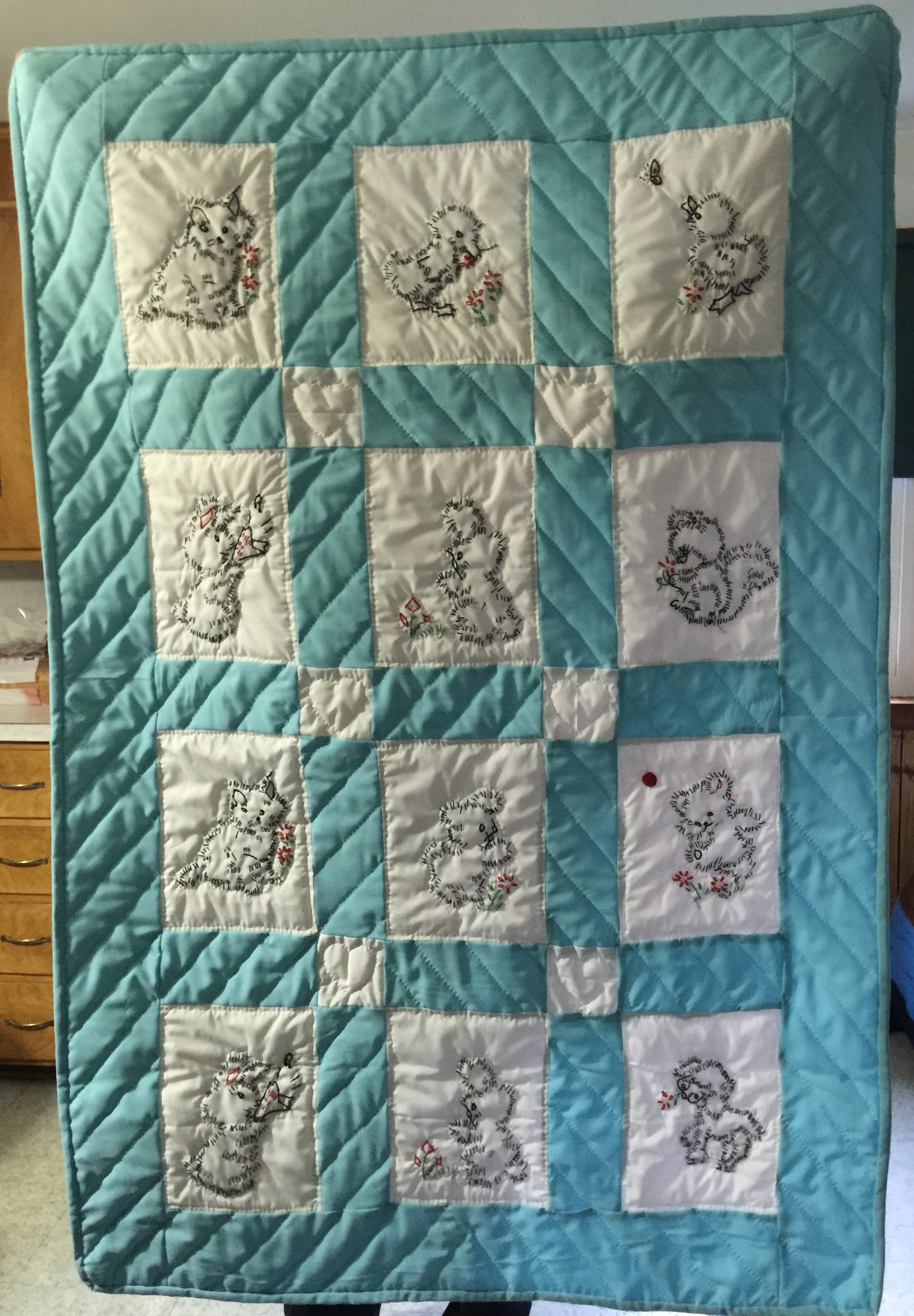 Amish Handmade Quilts For Baby And Adult Quillows Pillows
